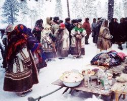 медвежий праздник у хантов фото