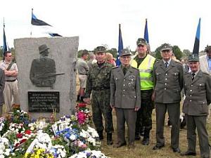 Памятник легионерам СС