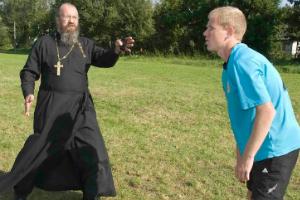 Клирик кафедрального Нарвского Воскресенского собора - протоиерей Сергий Львов