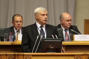 Глава Санкт-Петербурга о ситуации на Украине: «Мы своих бросать не будем!»
