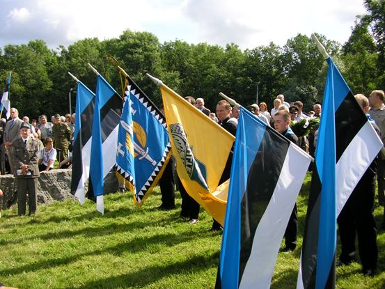 Ka mullu suvel toimus Sinimägedes mälestamaks 1944. aasta kaitselahingutes langenuid 20. Eesti Relvagrenaderide Diviisi kokkutulek.