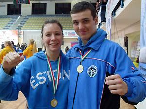 Виктория Мазина и Вячеслав Ищик - чемпионы Европы-2010